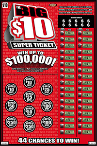 The Big $10 Super Ticket ®